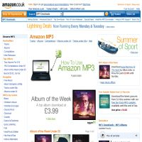 Amazon UK MP3 Store image