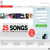 eMusic UK image