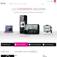Zune Marketplace UK image